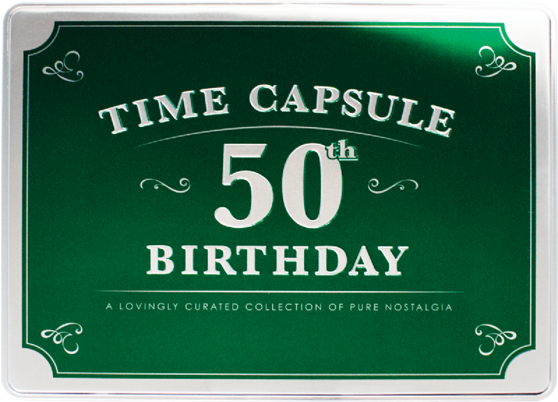 50th Birthday Time Capsule | Packed full of Memories !